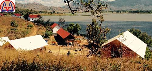 Công trình khu du lịch sinh thái tại Hồ Lak,Đăk lăk