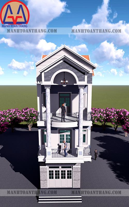 Nhà Phố 1 Trệt 2 Lầu (6)