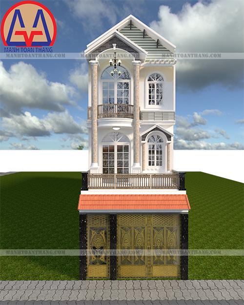 Thiết Kế Nhà Phố 3 Tầng Đẹp (10)