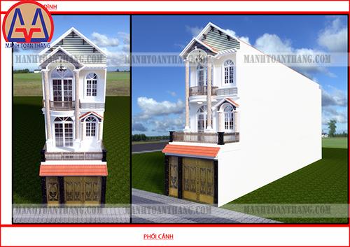 Thiết Kế Nhà Phố 3 Tầng Đẹp (11)