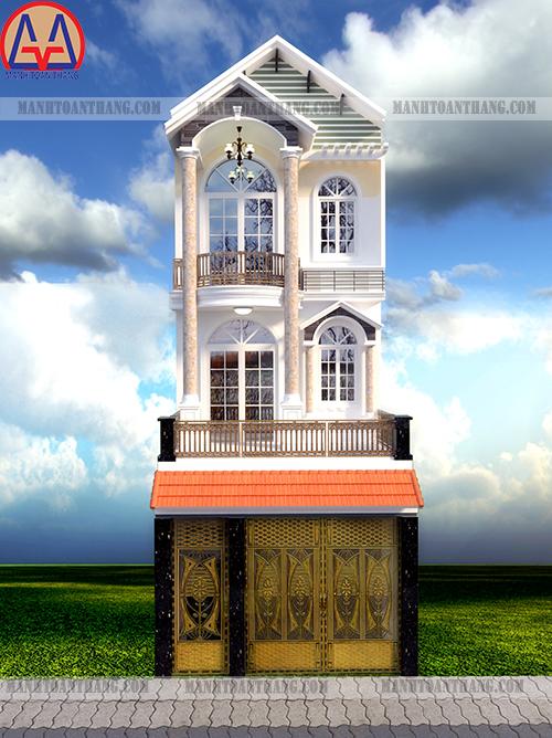 Thiết Kế Nhà Phố 3 Tầng Đẹp (12)