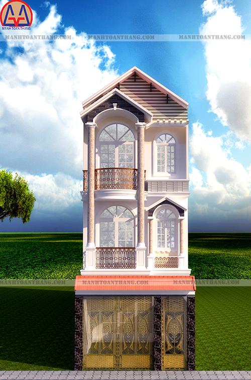 Thiết Kế Nhà Phố 3 Tầng Đẹp (16)