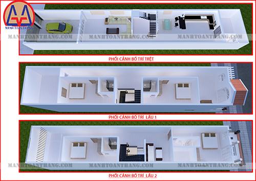 Thiết Kế Nhà Phố 3 Tầng Đẹp (17)