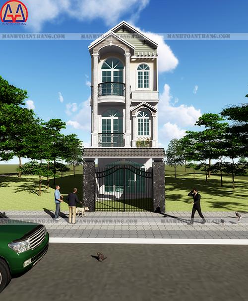 Thiết Kế Nhà Phố 3 Tầng Đẹp (6)
