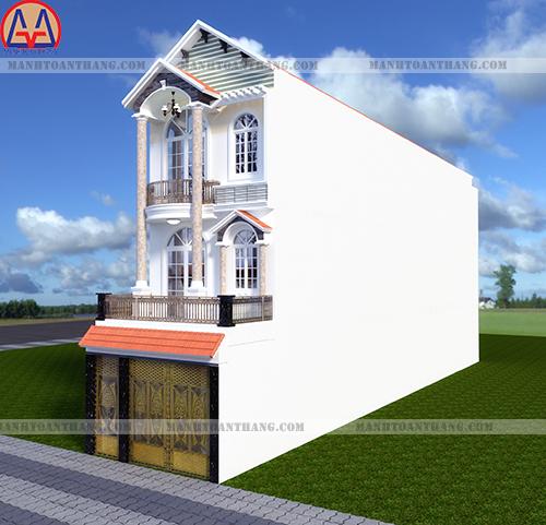 Thiết Kế Nhà Phố 3 Tầng Đẹp (7)