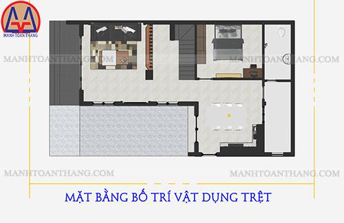 Mẫu Thiết Kế Nhà 2 Tầng 1 Sân Thượng Ở Quê (10)