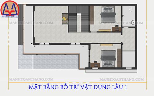 Mẫu Thiết Kế Nhà 2 Tầng 1 Sân Thượng Ở Quê (11)