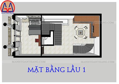 Thiết Kế Nhà Phố 4 Tầng Đẹp (4)