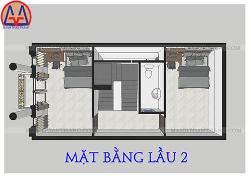 Thiết Kế Nhà Phố 4 Tầng Đẹp (5)