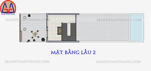 Nhà Phố 1 Trệt 2 Lầu Mặt Tiền 5m (12)